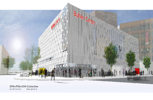 Buhler Centre is born at 460 Portage Avenue/architect's rendering/January 22, 2010