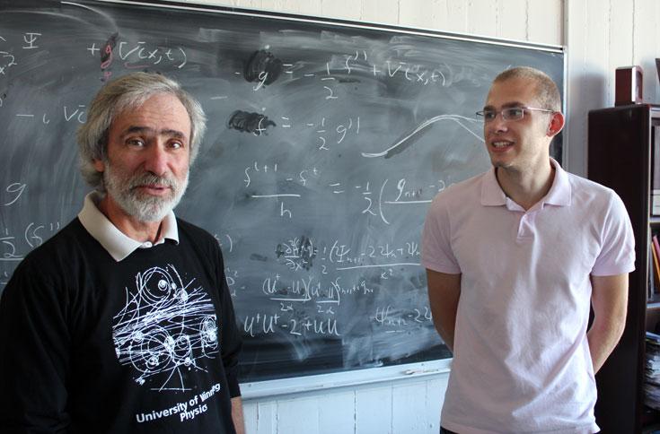 Dr. Gabor Kunstatter (left) + Nils Deppe; photo credit: Isaac Gutwilik