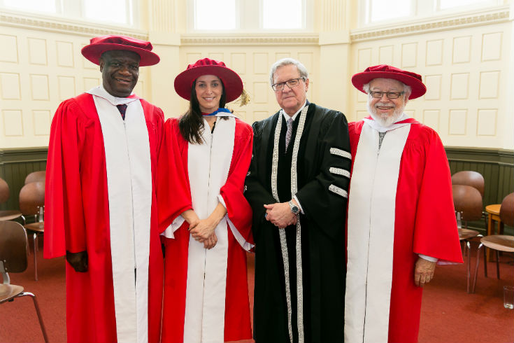 Three honorary doctorsweb
