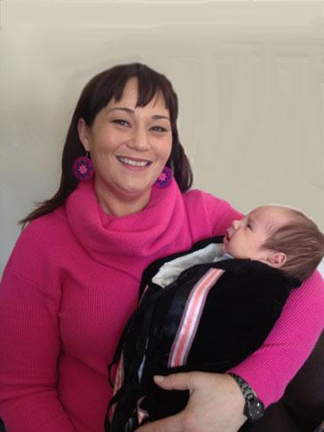 Dr. Jaime Cidro + baby