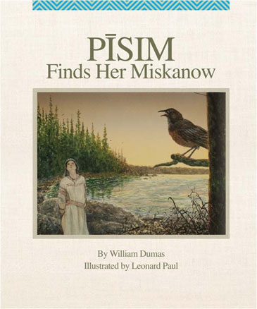 Pīsim Finds Her Miskanow - book cover