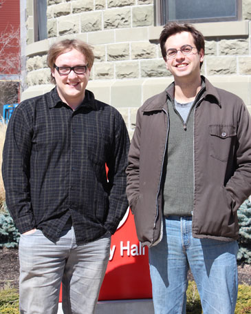 Christian Boulley +  Jesse Hill (on the right)