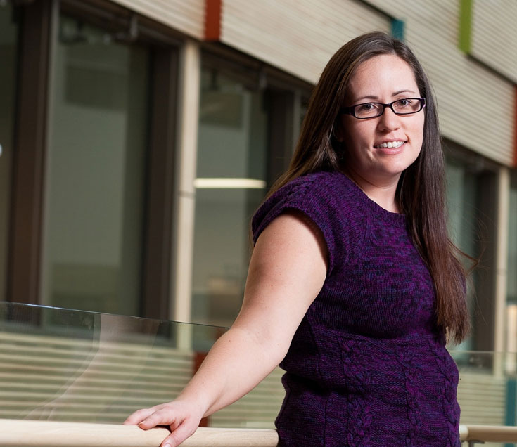 Heidi Cook - first Indigenous graduate of the prestigious Master's in Development Practice