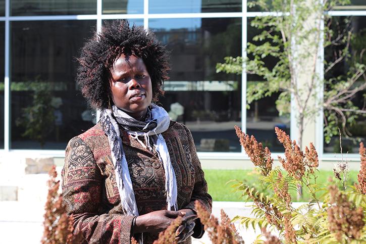 Rebecca Deng at The University of Winnipeg