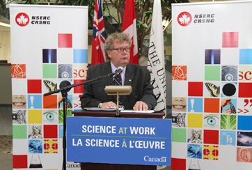 Minister of State for Science and Technology Ed Holder
