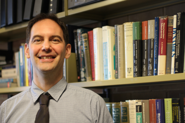 Physics Professor Dr. Dr. Christopher Bidinosti