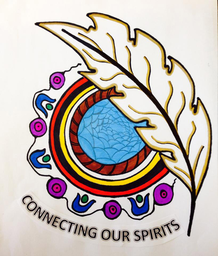 Connecting Our Spirits Logo
