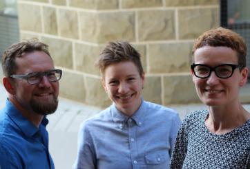Dr. Peter Ives, Dr. Angela Failler, Dr. Heather Milne