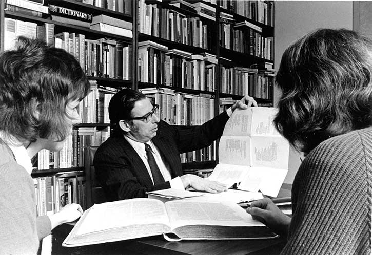 Dr. Walter E. Swayze, 1975.  University of Winnipeg Archives and Records Centre, Special Collections (SC-4-1 84-182)
