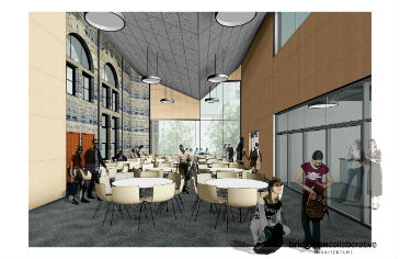 Leatherdale Hall - the new Tony's Canteen