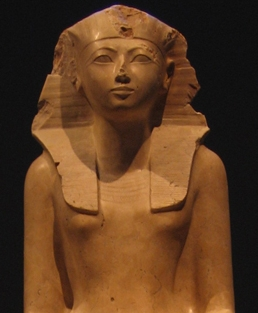 Hatshepsut Statue, photo courtesy of Wikipedia