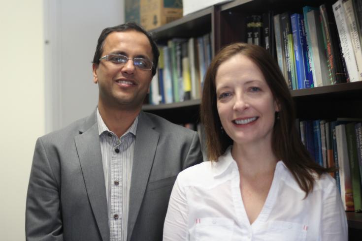 Dr. Manish Pandey + Dr. Melanie O'Gorman
