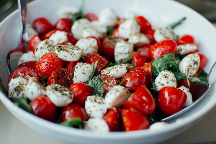 caprese salad, photo supplied