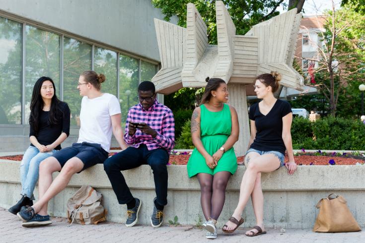 UWinnipeg international students, photo UWinnipeg