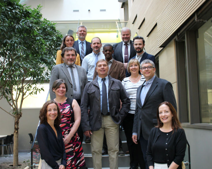 A delegation with the Norwegian University of Science and Technology visits UWinnipeg – Monday September 12 2016 – staff photo