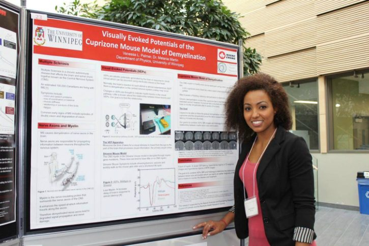 Vanessa Palmer, Randy Kobes Undergraduate Science Student Poster Competition