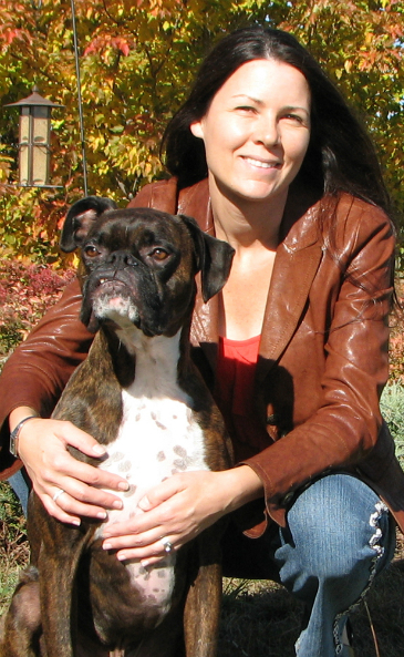 Dr. Colleen Dell + Subie the therapeutic K9, photo supplied