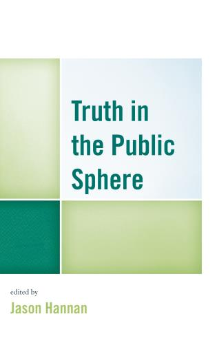 Truth in the Public Sphere, book cover