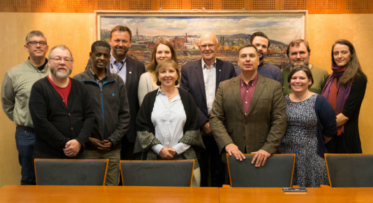 UWinnipeg team in Norway - phoyo supplied