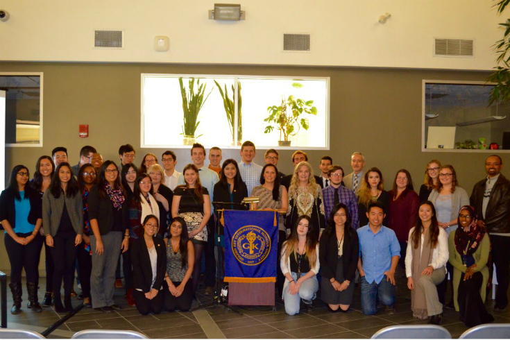 The University of Winnipeg Golden Key Chapter, photo supplied