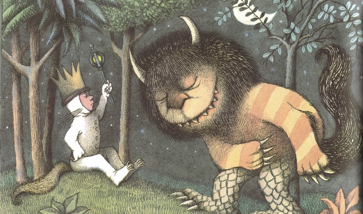 Where the Wild Things, cover of the book