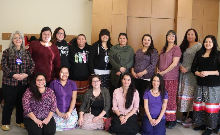 First cohort of the Manitoba Indigenous Doulas Initiative - photo supplied