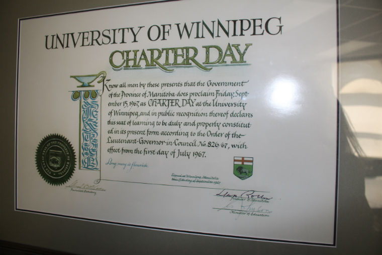 Charter Day plaque