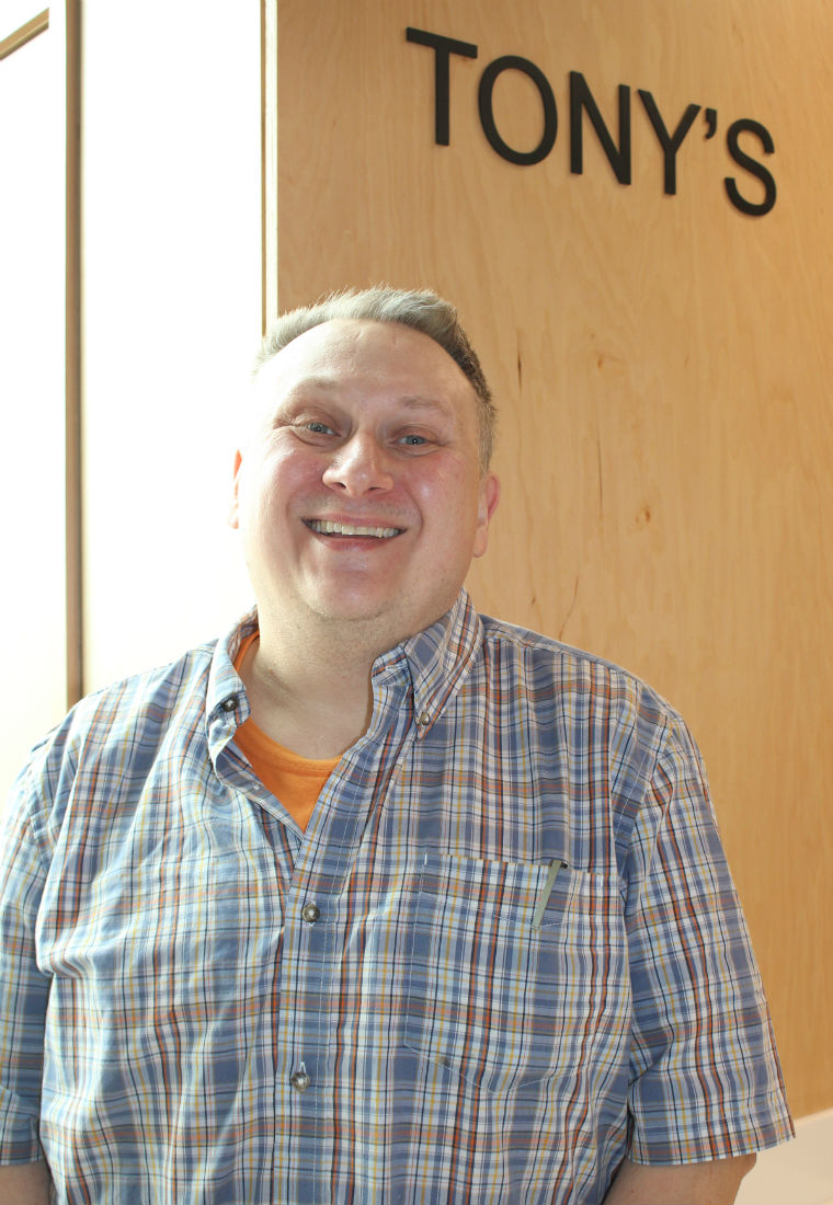 """Randy Luba calls his new position """"a great adventure"""" – staff photo"""