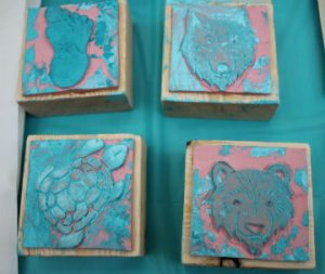 Mural stamps - staff photo