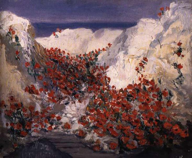Mary Riter Hamilton painting, photo supplied