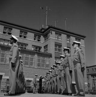 Canadian Navy Students, Rimouski, 1958