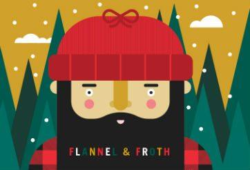 flannel + froth, ©UWinnipeg