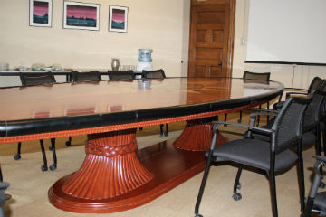Asper boardroom table