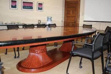 Asper boardroom table