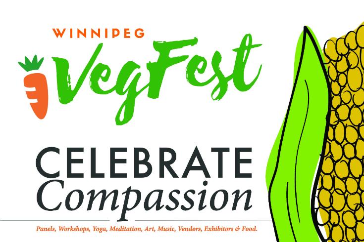 Winnipeg VegFest poster