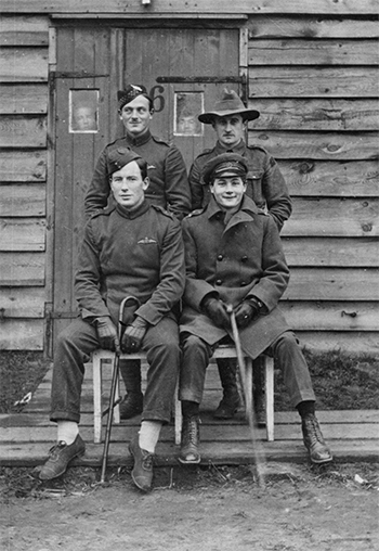 For King and Country,, photo of Canadian soldiers