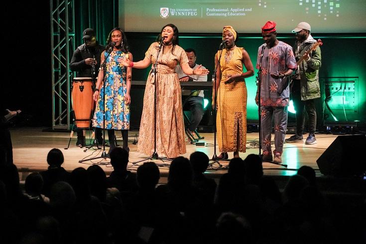 Nigerian Folk Band