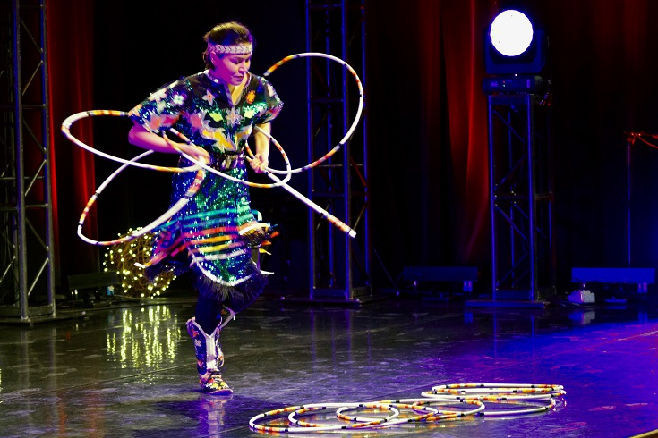 The opening act at the 8th annual PACE Cultural Evening will be by Brian Clyne, a member of the Peguis First Nation and an award-winning hoop and traditional dancer.