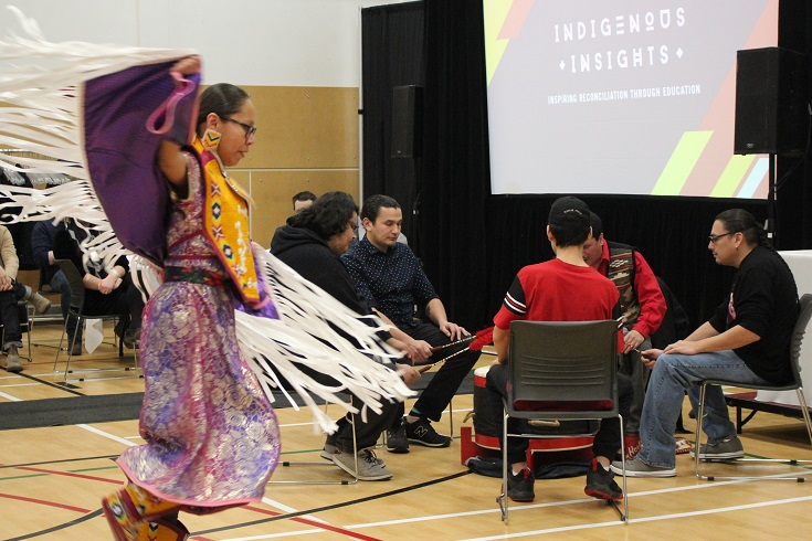 Indigenous Insights Drumming and Dancing