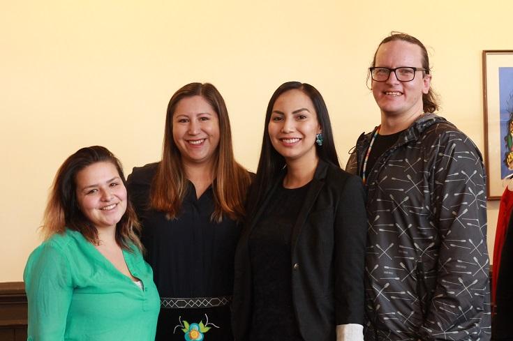 UWinnipeg's Indigenous Affairs team celebrates Jarita Greyeyes at Spring Feast