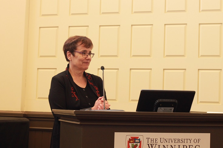 President and Vice-Chancellor Dr. Annette Trimbee