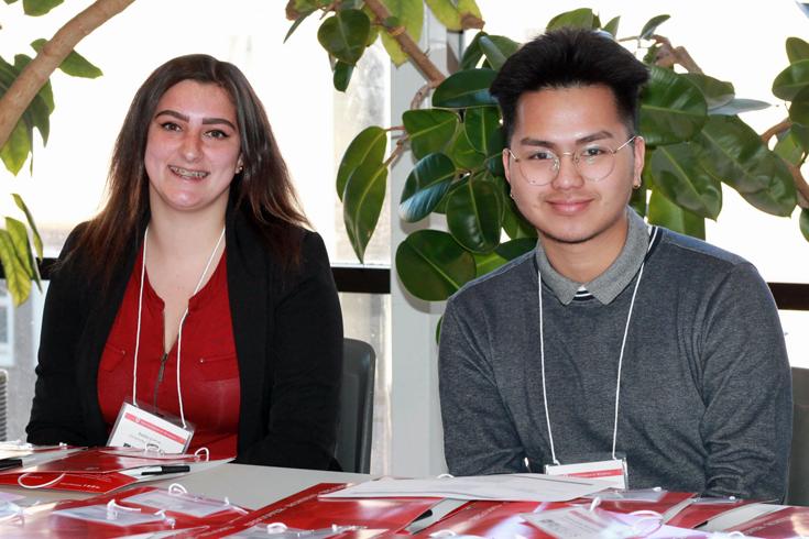 Digitizing Justice student volunteers 735x