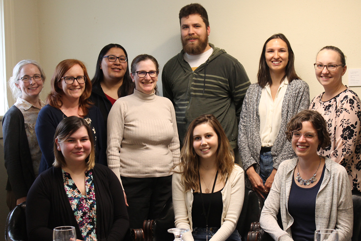 UWinnipeg's Pathway to Graduate Studies 2019 program participants. ©UWinnipeg