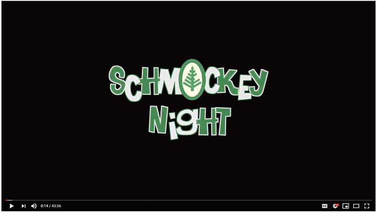 Schmockey Night logo