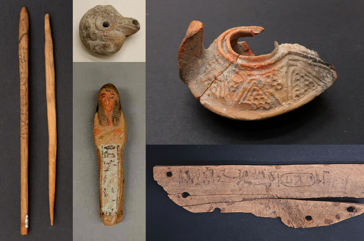 Ancient Egyptian artifacts from the Hetherington Collection