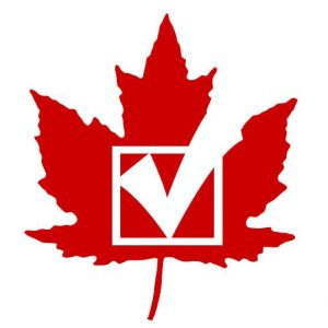 Canadian election check mark