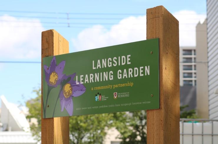 Langside Learning Garden, ©UWinnipeg