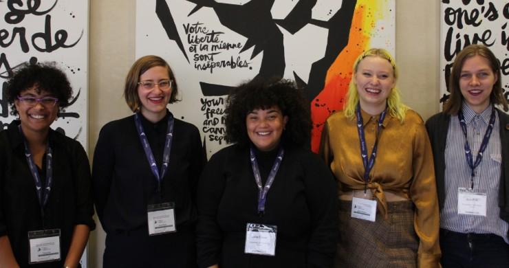 L to R: Thiané Diop, Nicole Ritchie, Jana Elazar, Dallas Gillingham, and Jase Falk, photo credit: Lauren Bosc