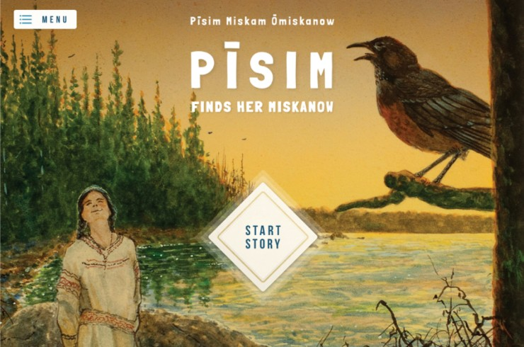 Pīsim Finds Her Miskanow app