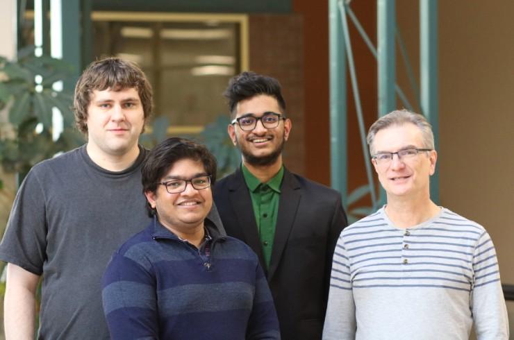 Alex Stephens, Harsh Patel, Aalekh Patel, Terry Visentin @UWinnipeg